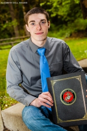 Christian recently enlisted in the US Marines!